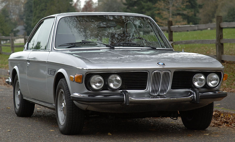'72 BMW 3.0CS - Karmann Coupe
