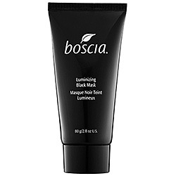Product Shout Out Boscia Luminizing Black Mask - $34 What it is:A groundbreaking, mineral-rich mask that peels off to deliver powerful detoxifying, purifying, and brightening effects.What it is formulated to do:This jet-black, mineral-rich mask creates a unique peel-off effect that delivers powerful detoxifying, purifying, and brightening results. Made with a premier-quality clay, its deep-cleansing properties draw out dirt and oil. Other natural ingredients go to work exfoliating skin and refining pores. Powerful antioxidants shrink pores, firm skin, and reduce inflammation. Once dried, the mask strips away dead skin, impurities and excess oil to reveal immediate and visible results.What it is formulated WITHOUT:- Parabens- Sulfates- Synthetic Fragrances- Synthetic Dyes- Petrochemicals- Phthalates- GMOs- TriclosanWhat else you need to know:Apply an even layer to clean, dry skin. Avoid eyebrows, hairline and lips. Avoid eye area by applying below orbital bone. Leave on 15-20 minutes or until completely dry. Gently peel off mask from outer edges. Rinse off any residue with warm water. Follow with moisturizer. Use once or twice a week. Suggested Usage:-Apply an even layer to clean, dry skin.-Avoid eye area by applying below orbital bone.-Avoid eye area, eye brows, hair line, and lips.-Leave on 15-20 minutes or until completely dry.-Gently peel off mask from outer edges.-Rinse off any residue with warm water.-Follow with tonic and moisturizer.-Use once or twice per week.Precautions:-For external use only.-Avoid contact with eyes.-If contact occurs, rinse eyes thoroughly with water.-Do not use on skin that is irritated, broken, or sunburned.-If irritation develops, discontinue use immediately and consult a physician.-Avoid contact with clothing.-If contact occurs, rinse immediately with warm water.SENSITIVY TEST FOR NEW USERS:Apply a small amount of product to a small area of clean, dry skin. Wait until product dries completely. Gently peel off mask from outer edges. Rinse off any residue with warm water. If no sensitivity occurs, follow regular usage instructions. If any irritation or sensitivity develops, discontinue use immediately and consult a physician. Source: Sephora - Boscia
