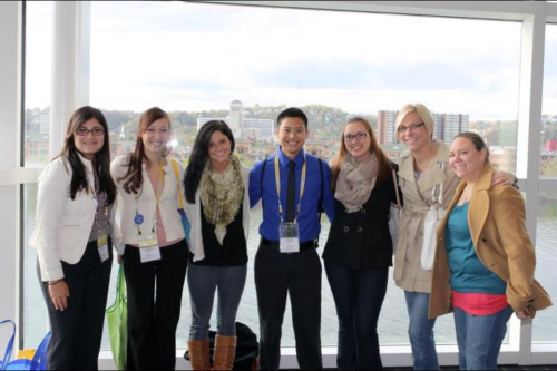 2012 NSNA Convention!  The group representing our School of Nursing :)