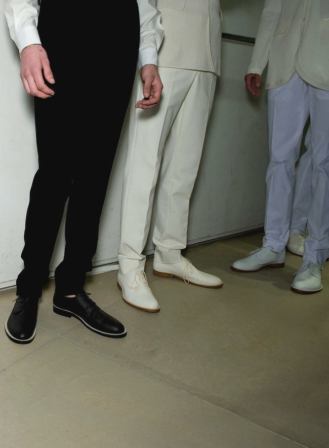 efedra:  Backstage at Jil Sander Menswear S/S 2010