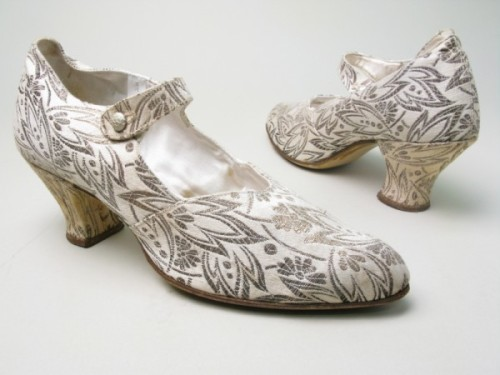 Wedding Shoes 1927 Manchester City Galleries