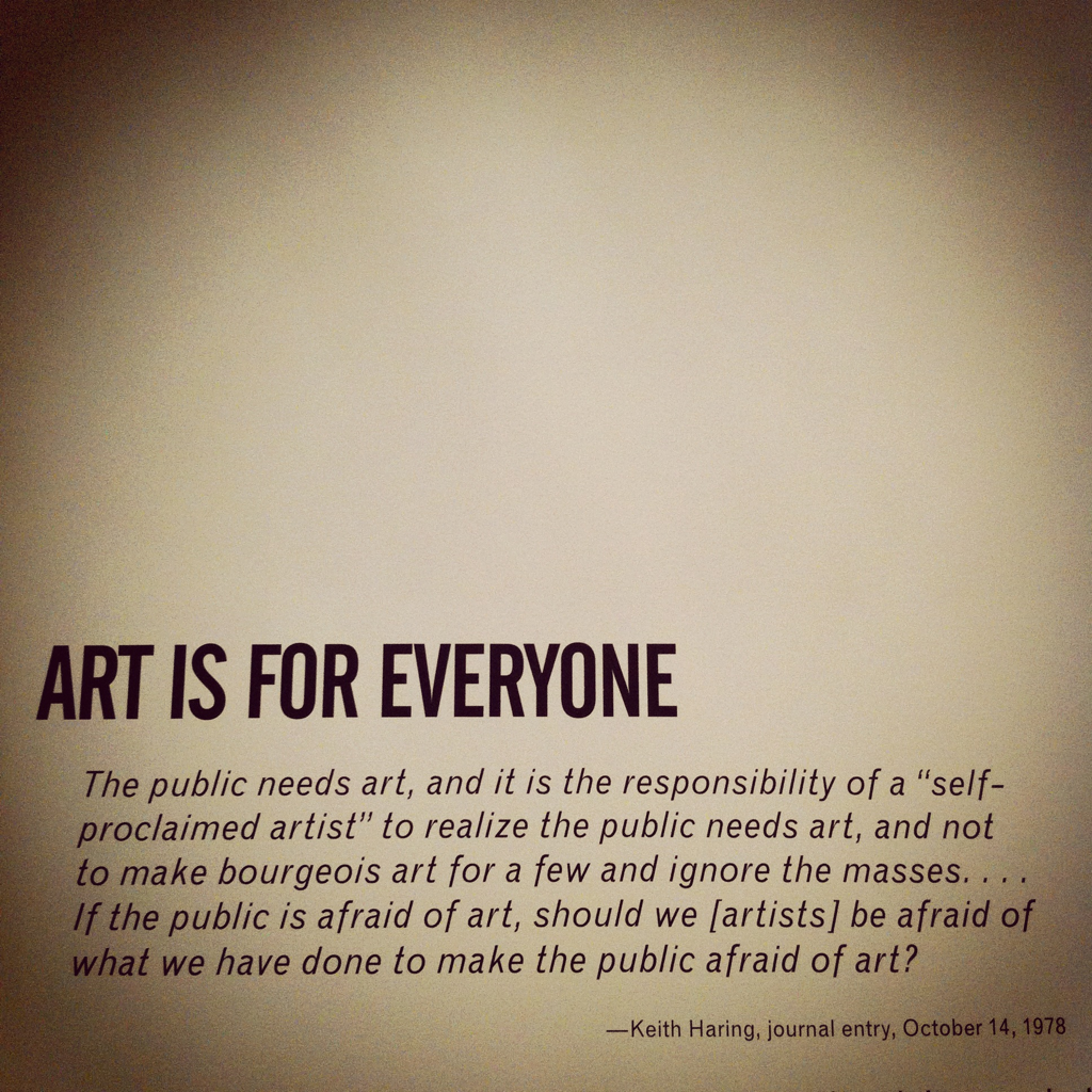 Word. Taken while at the Brooklyn Museum.