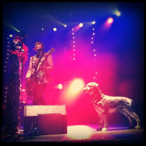 Nicky Wire (Manic Street Preachers) (Taken with Instagram at Razzmatazz)