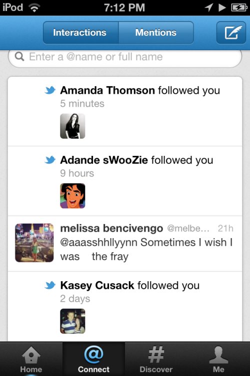 Swoozie follows me on twitter. Stop.