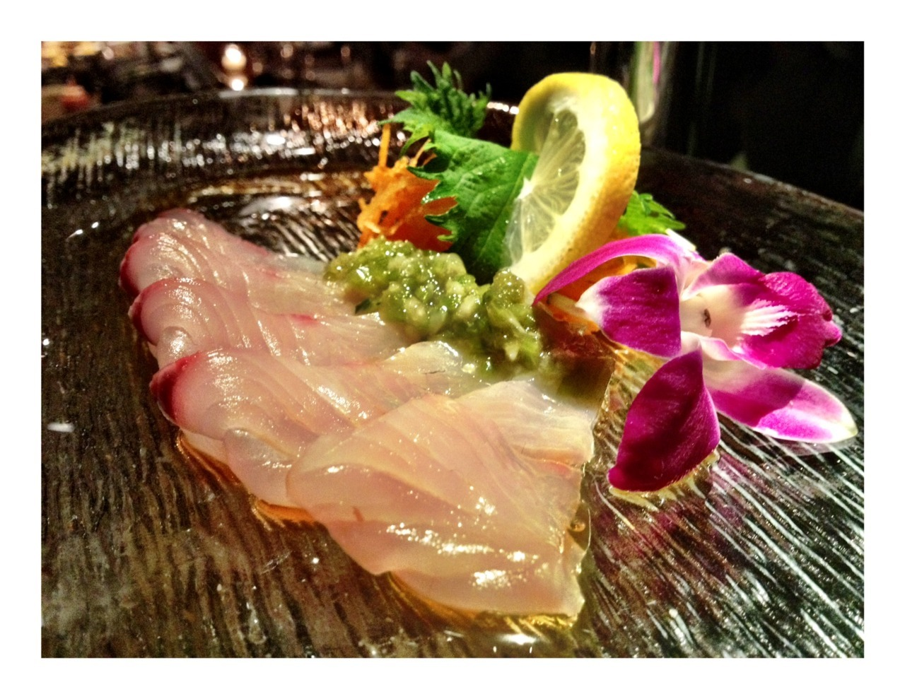 Yellowtail.