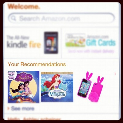 amazon, you know me so well. (Taken with instagram)