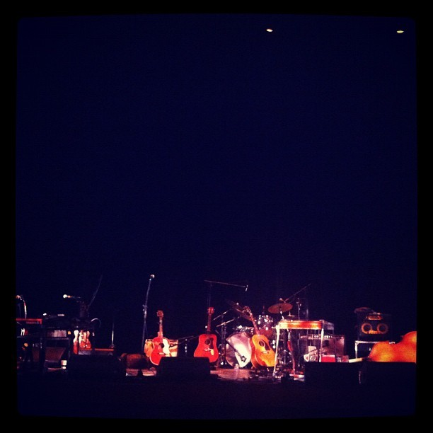 Holy great seats, Batman! #nicklowe @tiftmerritt (Taken with instagram)