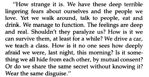 aseaofquotes:  Don DeLillo, White Noise