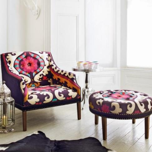 Suzani Print chair. Love it!!!