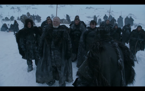 Review of a very good, very fast paced episode of Game of Thrones (S2, Ep5).  I love the North!