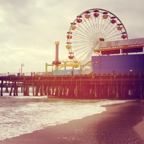 givemelazydays:  Santa Monica Pier