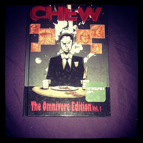 Another graphic novel that came in today. :-)   (Taken with instagram)