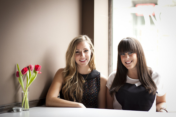 Jess and Erin from Haute Halifax