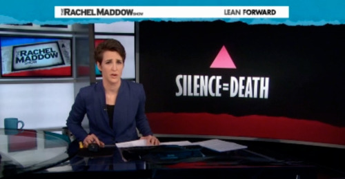 Reason 204,574,874 to love Rachel Maddow