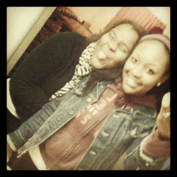 My bitch, my right hand #lovethisgirl  (Taken with instagram)