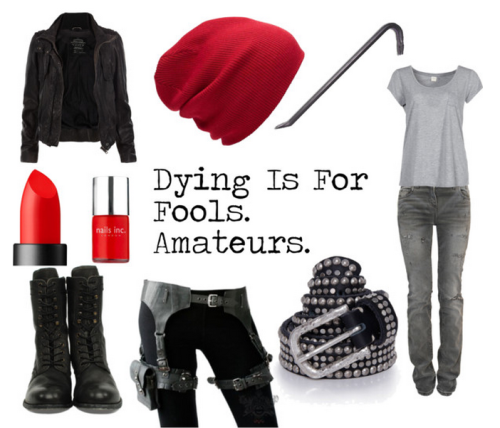 fictionalfashionistas:  BY REQUEST Batman Inspired - Jason Todd/Red Hood