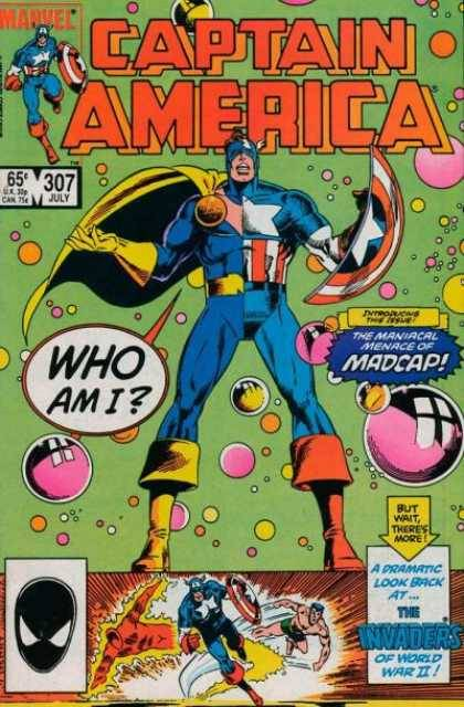 Captain America #307, July 1985, written by Mark Gruenwald, penciled by Paul Neary