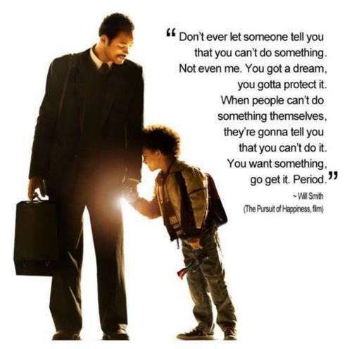 One of the best movies ever! I love Will Smith<3 && this is soo TRUE!