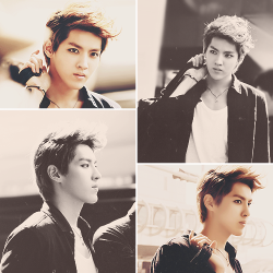 kris, who may as well be a freakin' model