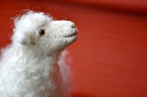 Needle Felted Sheep by Teresa Perleberg
