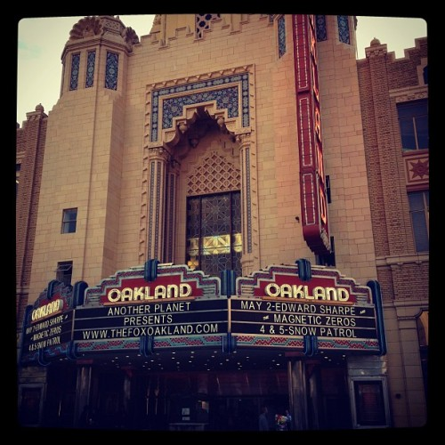 About to see Edward Sharpe!! (Taken with Instagram at Fox Theatre)