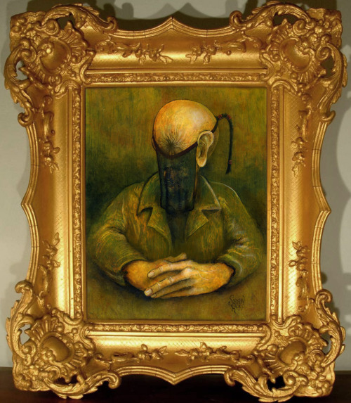 The Stench of HeavenOil on board with frame Sean Hopp, 2003