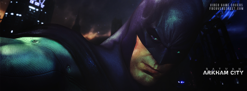 Batman Arkham City Facebook Covers