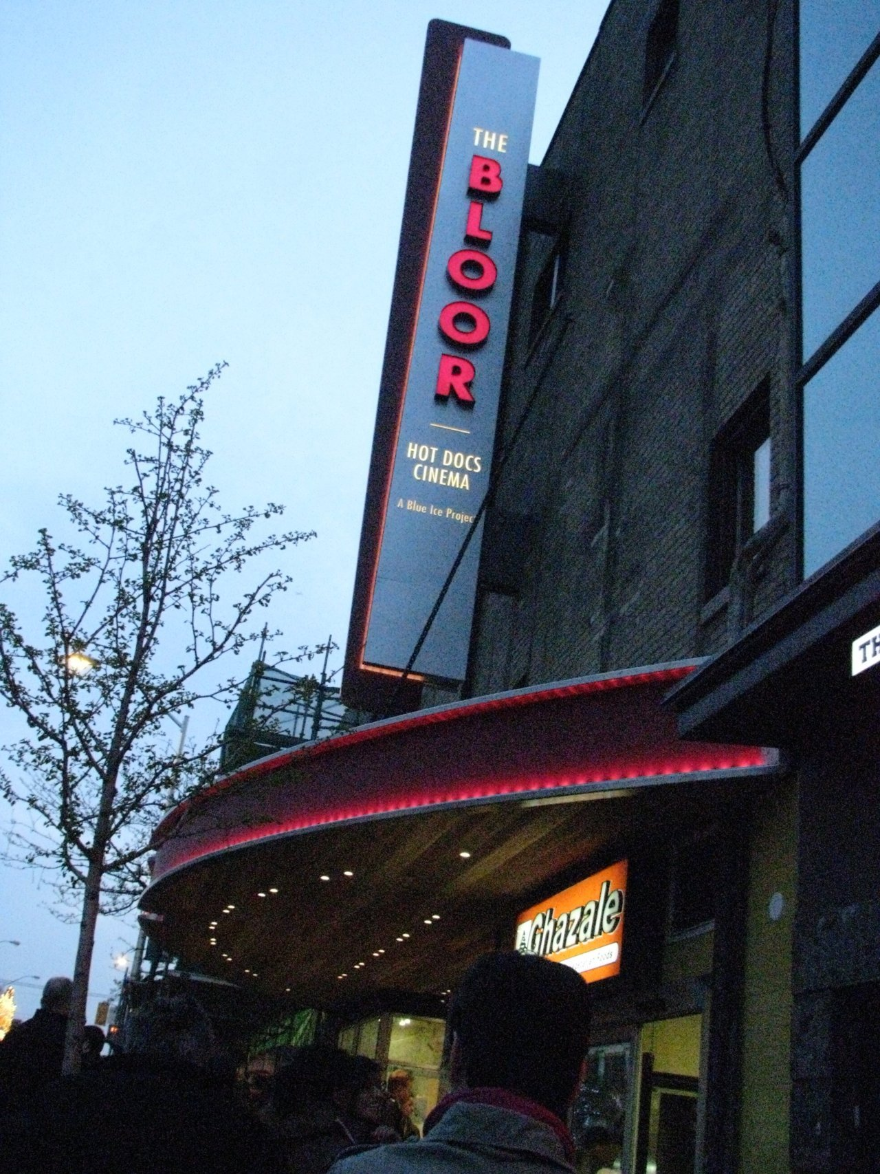 I was pleased to discover the Bloor Cinema is still in the movie business … with a face lift and rebirth as the home of the Toronto hotDOCs Festival, On now
