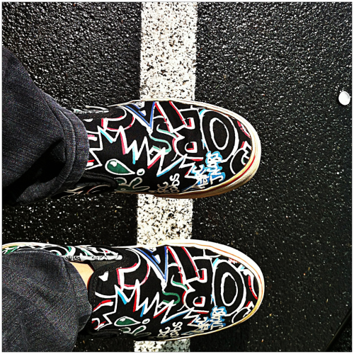 Thought I lost these! Marc Jacobs x Vans.   Mililani, Hawai'i 05/02/2012