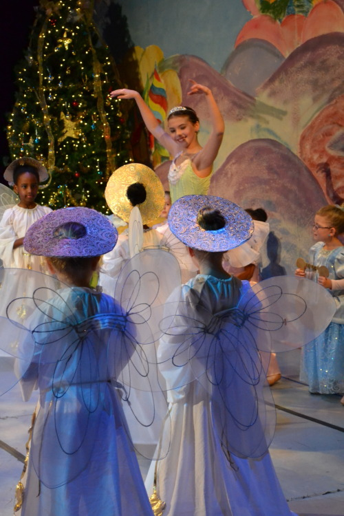My friend Samantha as Dew Drop Fairy in the Nutcracker