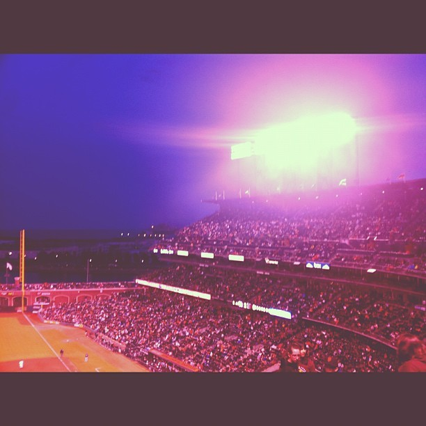 05.02.12 the giants, the marlins and me #photooftheday #iphonesia #baseball @curikim @supreeemz @1devo (Taken with instagram)
