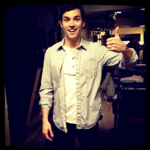 Ian Harding courtesy of lovesmenot's request. Everyone go follow!