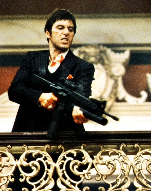 The Most Iconic Images in the Film History:  Scarface, by Brian De Palma (1983)
