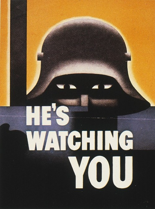 He's Watching YOU