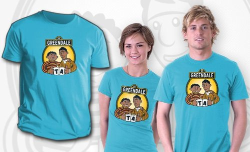 teevil:  Greendale Street by pigboytees - Sold on May 3rd at http://teefury.com http://on.fb.me/KSpNnI