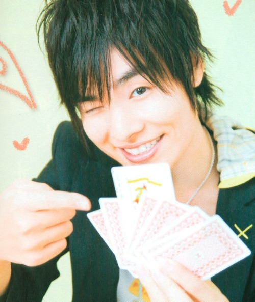 "yumemiru92:  NOBUHIKO OKAMOTO This is the one who topped the ""CUTEST SEIYUUS"" poll recently XD"