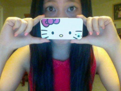 how cute is my iphone case?? :))