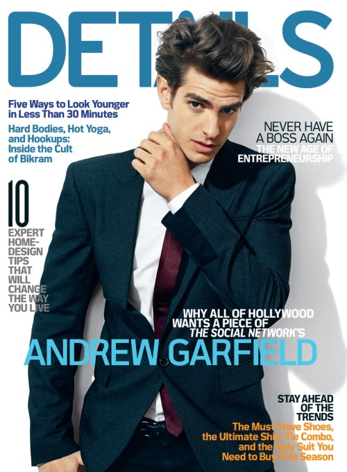 Andrew Garfield omg i think he is so hot. and he's gunna play The Amazing Spider-Man and he's dating Emma Stone who i am in fucking love with so if he's good enough for her, he's fucking good enough for me.