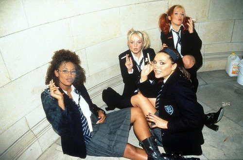 notebookmemories:  suicideblonde:  Spice Girls  (via imgTumble)
