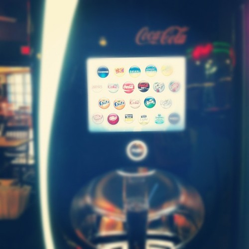 Best coke a cola machine ever!!!!!!!! #cokeacola #fuddrockers #lansing (Taken with instagram)