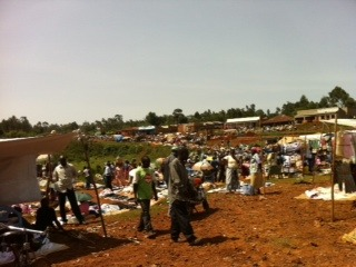 Friday Market in Nyakoe, Kenya