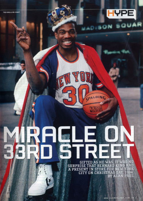MIRACLE ON 33RD STREET! LET'S GO #KNICKS
