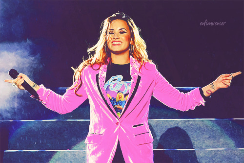 Demi - Uruguay, April 29, 2012.