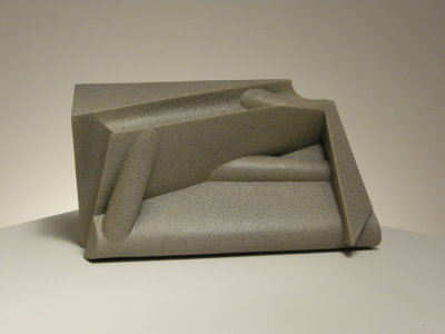 "Anne Currier ""Frieze Series II: Limestone Panel #3"" 2010 9.5""H x 16""W x 6""D"
