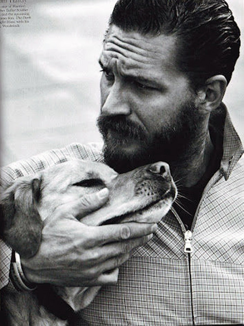 feront:  AND THEN IT WAS TOM HARDY WITH A PUPPY AND A BEARD SO I MURDERED MYSELF