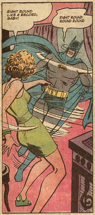 always batman always nevver:  You spin me right round