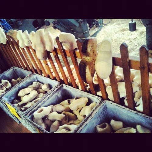 #wooden #clogs #holland #tourist #travel #holiday  (Taken with instagram)