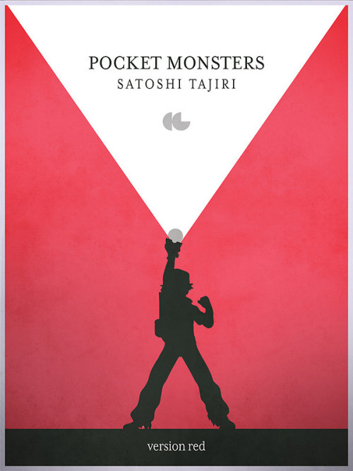 gamefreaksnz:  A Monster in your Pocket (Red Version) by gallantdesigns Prints and iPhone cases now at Redbubble starting at USD$22.73 Follow the artist on Tumblr