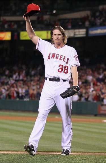DREAM WEAVER hurls 10th no-hitter in angles history! #Angels #Halos (Taken with instagram)
