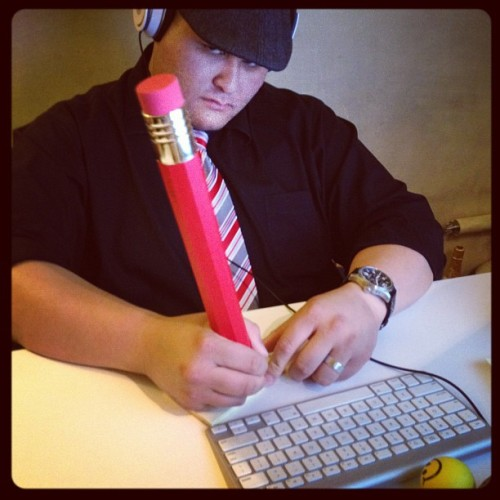 Wow nice pencil mister! #bigideas #ghdone  (Taken with Instagram at The Greenhouse Innovation Hub)